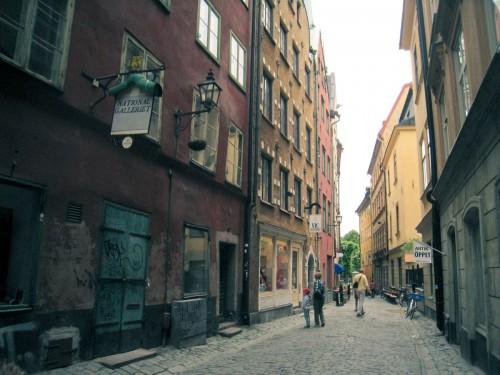 Stockholm's old city.