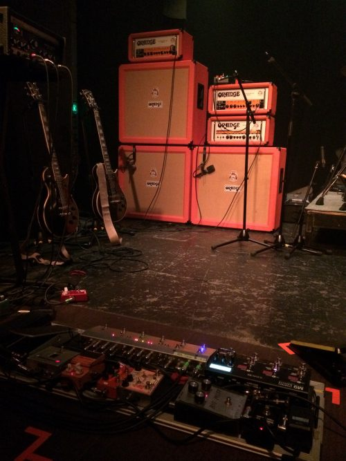Wata's gear (Boris' guitarist).